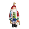 Old Word Christmas Sinterklaas Glass Ornament, OWC-Old World Christmas, Putti Fine Furnishings