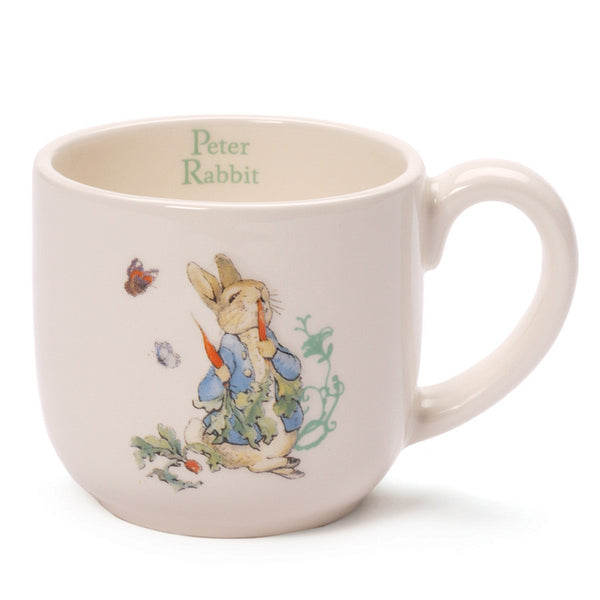 Baby Gund - Peter Rabbit Ceramic Baby Cup-Children's Giftware-EC-Enesco Canada-Putti Fine Furnishings