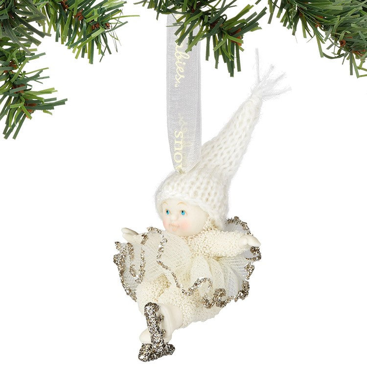 """Snowbabies"" Dream Ice Dancing Ornament, Department 56, Putti Fine Furnishings"
