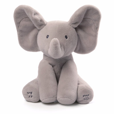 Baby Gund - Flappy the Elephant Animated -  Children's Toys - Enesco - Putti Fine Furnishings Toronto Canada - 4