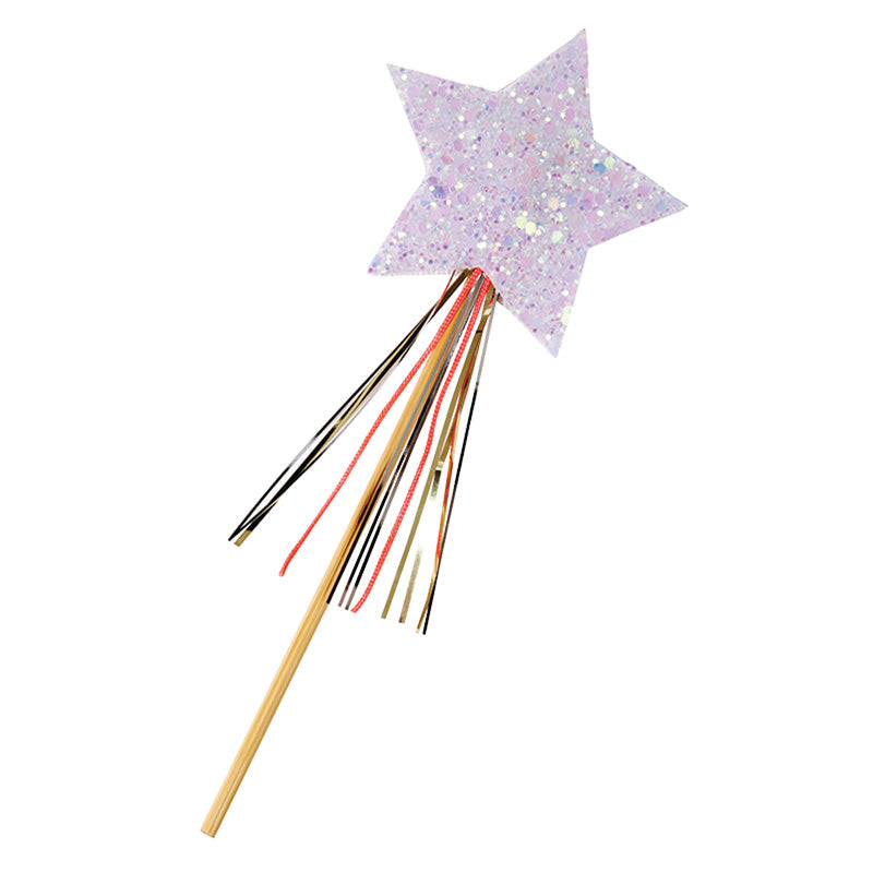 Meri Meri Star Wand Christmas Card, MM-Meri Meri UK, Putti Fine Furnishings