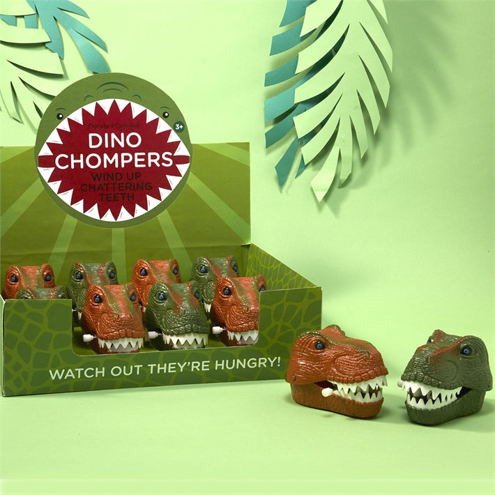 Dinosaur Chompers Wind Up Toy, TC-Two's Company, Putti Fine Furnishings