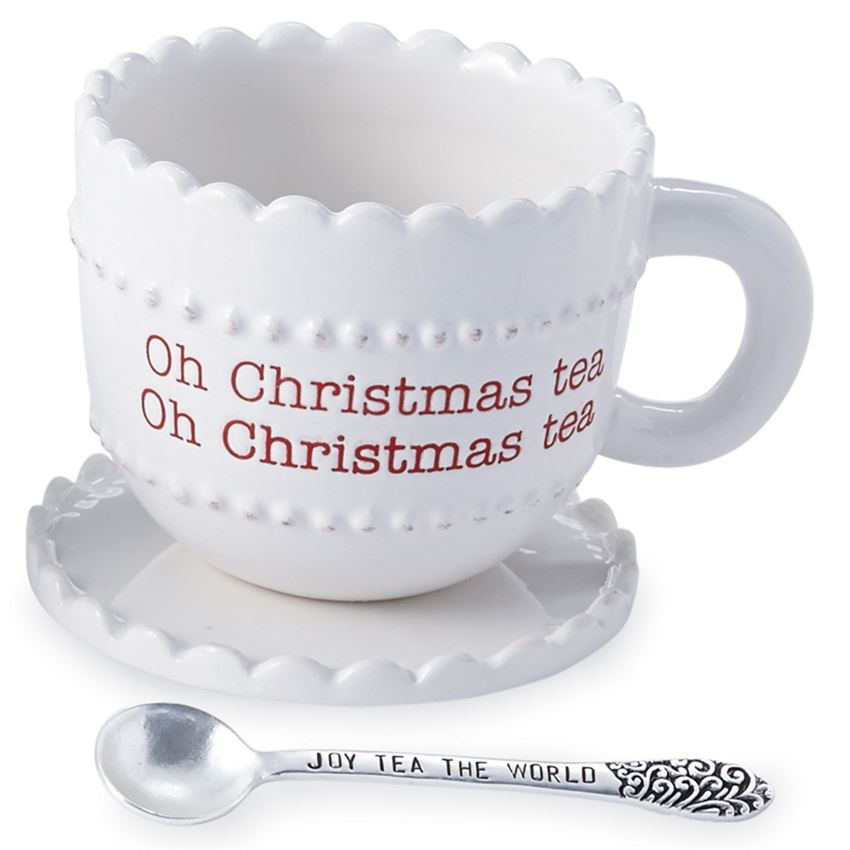 Oh Christmas Tea Mug Set