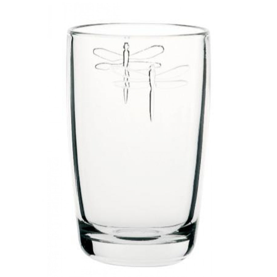 La Rocher Dragonfly Long Drink Glass 14oz