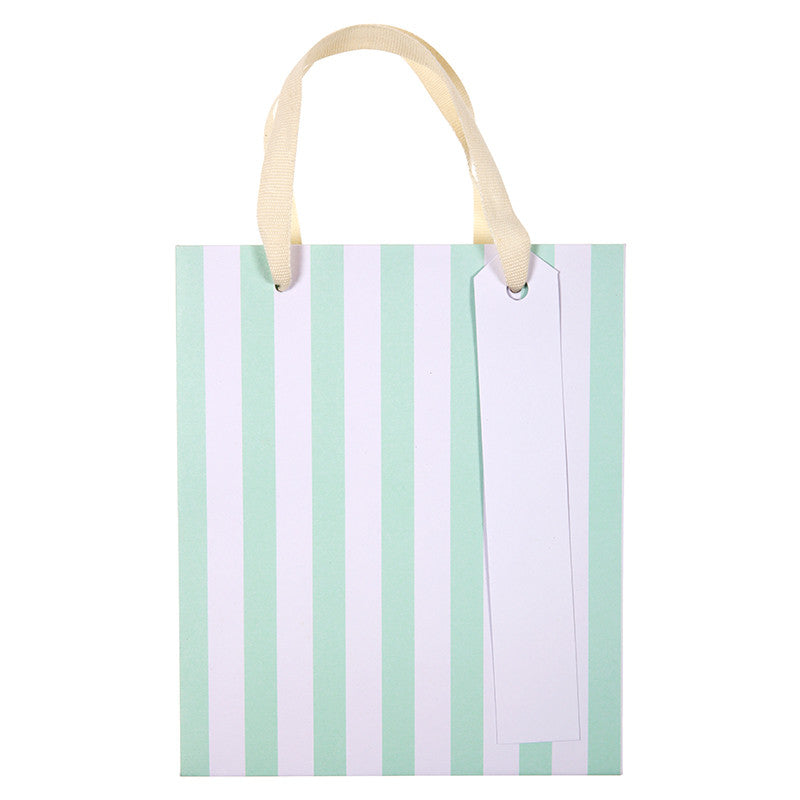 Meri Meri Neon Stripe Party Bags - Small, MM-Meri Meri UK, Putti Fine Furnishings