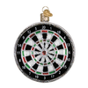 Old Word Christmas Dart Board Glass Ornament, OWC-Old World Christmas, Putti Fine Furnishings