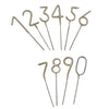 Number Sparklers - Zero to Nine, S&S-Siu & Sons, Putti Fine Furnishings
