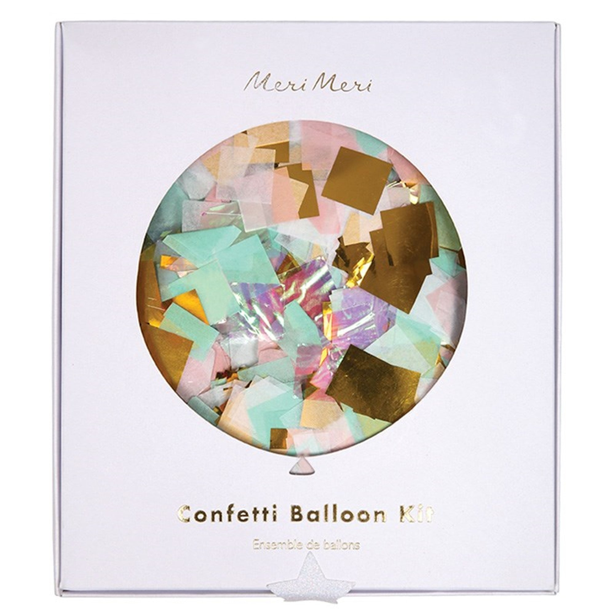 Meri Meri Iridescent Confetti Balloons, MM-Meri Meri UK, Putti Fine Furnishings