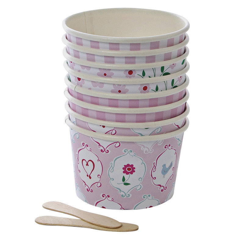 "Meri Meri ""I'm a Princess"" Party - Treat Cups-Party Supplies-MM-Meri Meri UK-Putti Fine Furnishings"