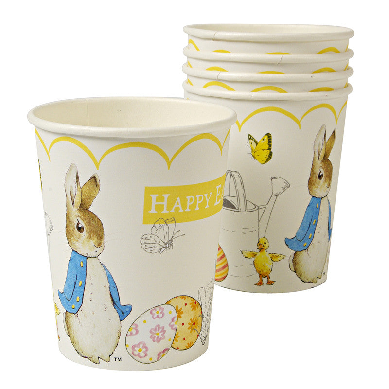 Meri Meri Peter Rabbit Easter Paper Cups, MM-Meri Meri UK, Putti Fine Furnishings