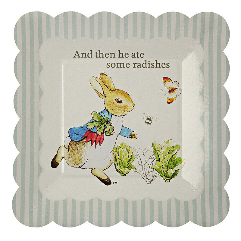 Meri Meri Peter Rabbit Small Paper Plates