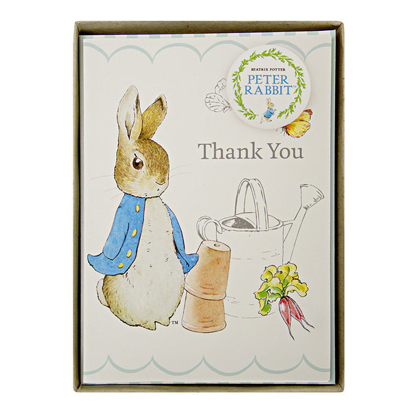 Meri Meri Peter Rabbit Thank You Cards-Stationary-MM-Meri Meri UK-Putti Fine Furnishings