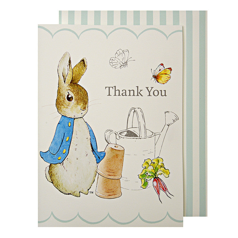 Meri Meri Peter Rabbit Thank You Cards, MM-Meri Meri UK, Putti Fine Furnishings