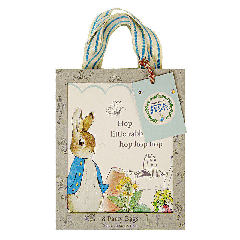 Meri Meri Peter Rabbit Party Bags -  Party Supplies - Meri Meri UK - Putti Fine Furnishings Toronto Canada - 2