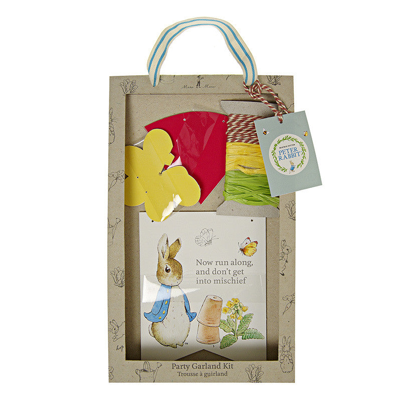 Meri Meri Peter Rabbit Bunting -  Party Supplies - Meri Meri UK - Putti Fine Furnishings Toronto Canada - 1