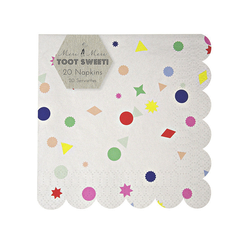 "Meri Meri ""Charms"" Paper Napkins - Small, MM-Meri Meri UK, Putti Fine Furnishings"