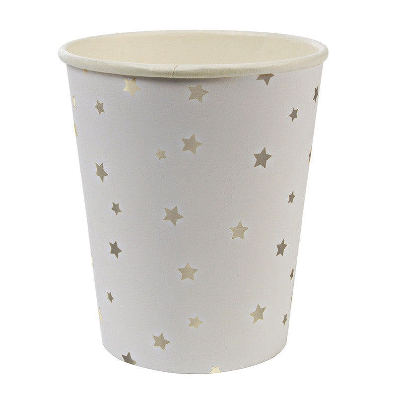 Silver Star - Paper Cups, MM-Meri Meri UK, Putti Fine Furnishings