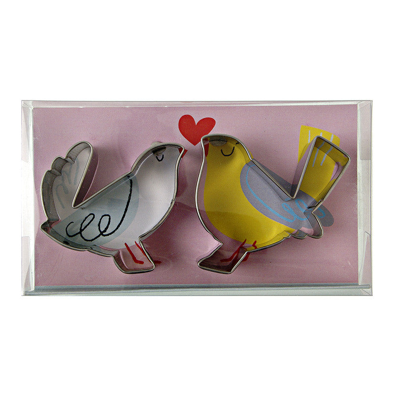 "Meri Meri ""Love Birds"" Cookie Cutter, MM-Meri Meri UK, Putti Fine Furnishings"