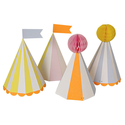 Silly Circus - Party Hats -  Party Supplies - Meri Meri UK - Putti Fine Furnishings Toronto Canada - 1