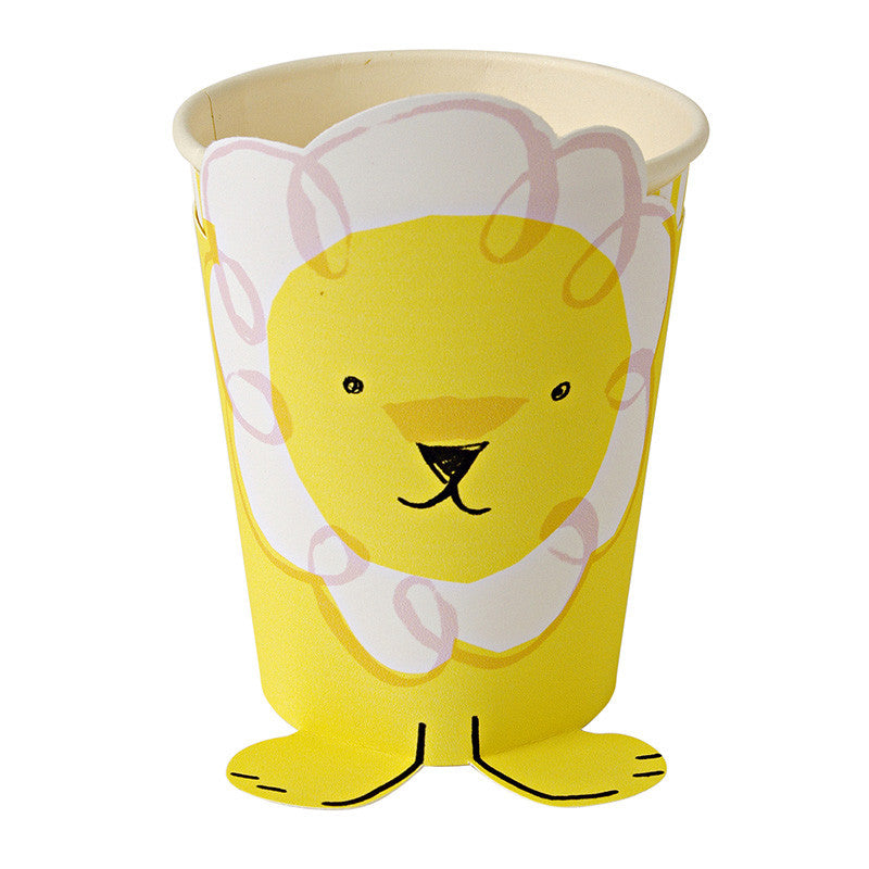 Arriving Soon! Silly Circus - Paper Cups -  Party Supplies - Meri Meri UK - Putti Fine Furnishings Toronto Canada - 1