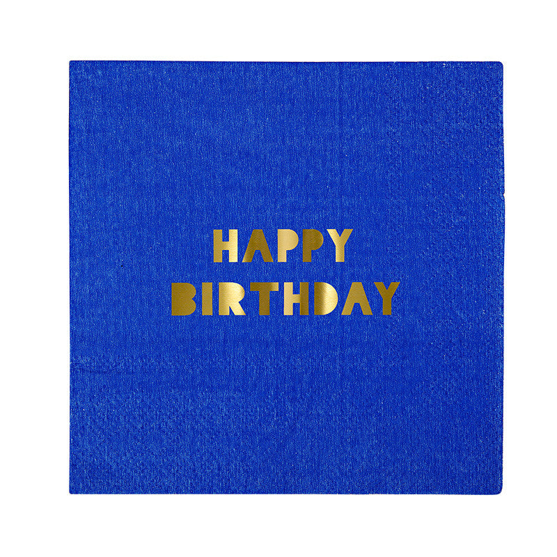 "Meri Meri ""Happy Birthday"" Napkins - Small"