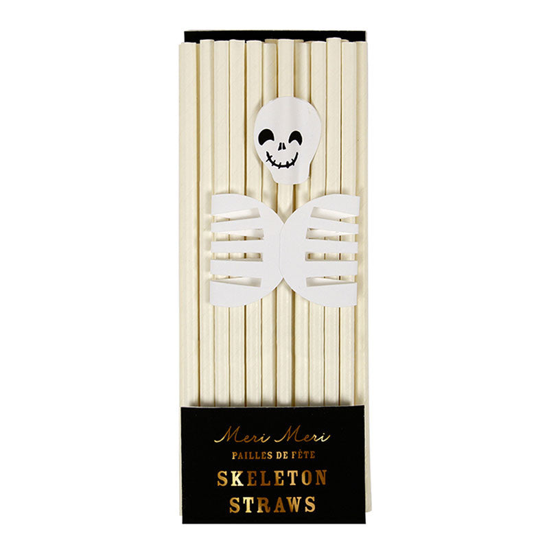 Meri Meri Paper Skeleton Straws, MM-Meri Meri UK, Putti Fine Furnishings
