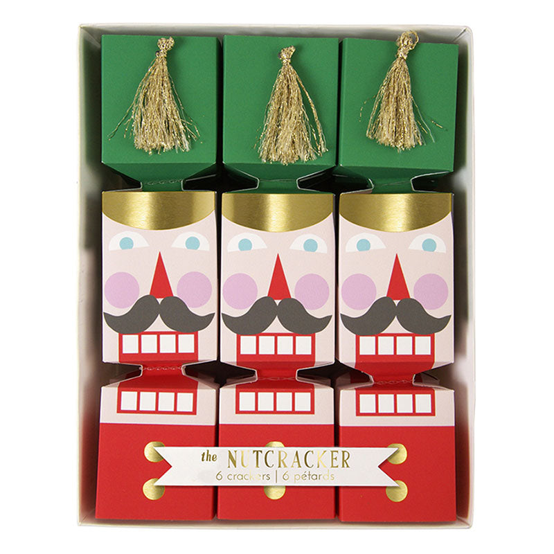 "Meri Meri ""The Nutcracker"" Mini Tassel Crackers-Party Supplies-MM-Meri Meri UK-Putti Fine Furnishings"