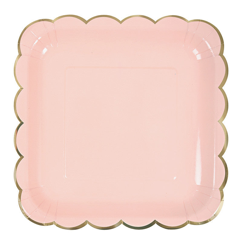 Meri Meri Pastel - Large Plates, MM-Meri Meri UK, Putti Fine Furnishings