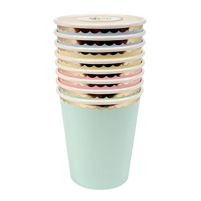 Meri Meri Pastel - Paper Cups, MM-Meri Meri UK, Putti Fine Furnishings