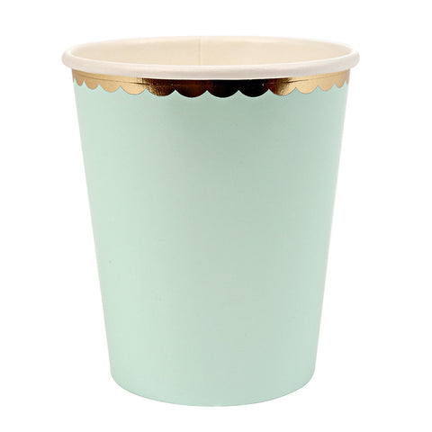 Meri Meri Pastel - Paper Cups -  Party Supplies - Meri Meri UK - Putti Fine Furnishings Toronto Canada - 1