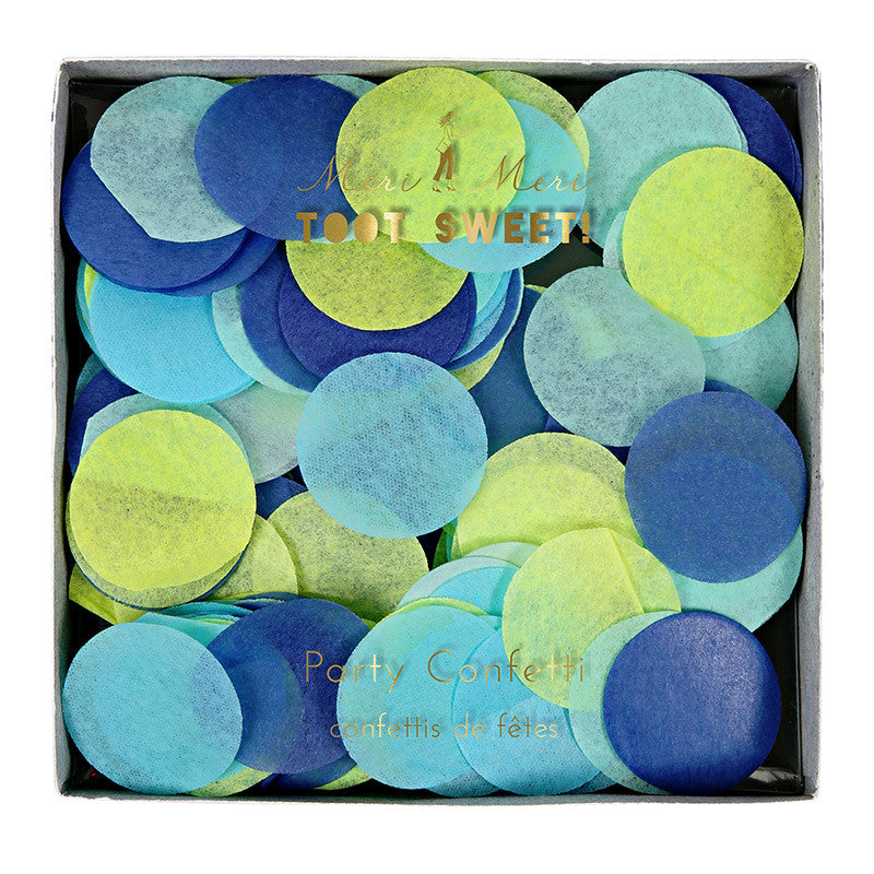 Meri Meri Confetti - Blue, MM-Meri Meri UK, Putti Fine Furnishings