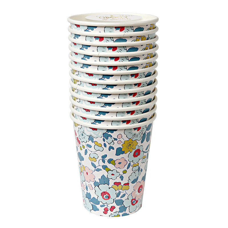 Meri Meri Liberty Betsy - Paper Cup -  Party Supplies - Meri Meri UK - Putti Fine Furnishings Toronto Canada - 1