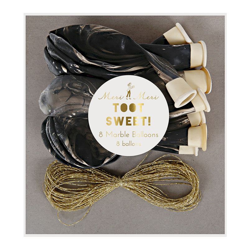 Meri Meri Marble Ballon Kit - Black