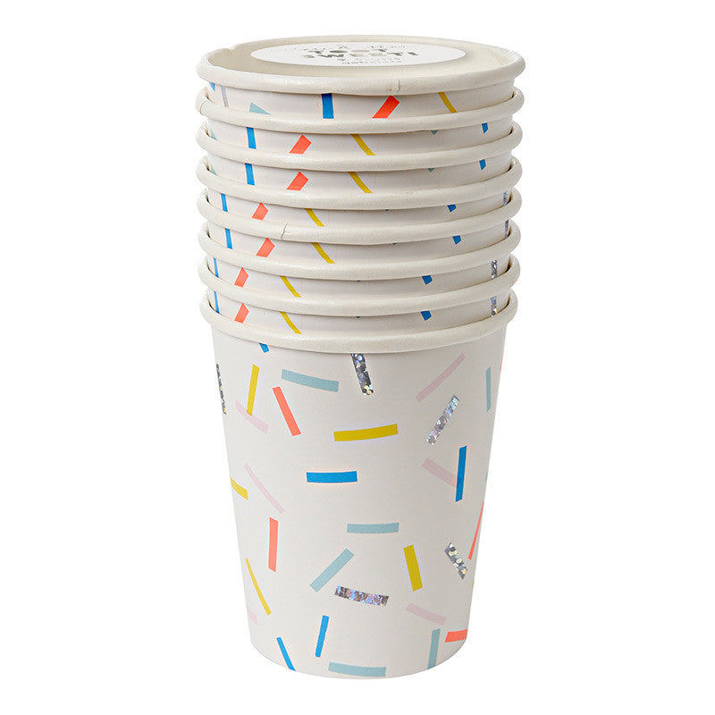 "Meri Meri ""Toot Sweet"" Sprinkles - Paper Cups, MM-Meri Meri UK, Putti Fine Furnishings"