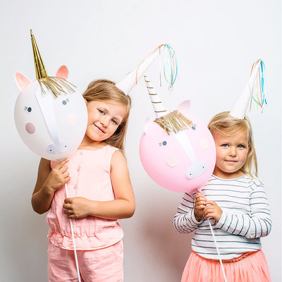 """I Believe in Unicorns"" Balloon Kit -  Party Supplies - Meri Meri UK - Putti Fine Furnishings Toronto Canada - 3"