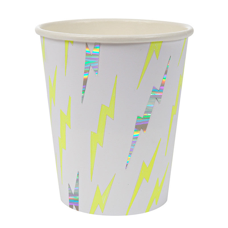 "Superhero ""Zap"" Large Paper Cups-Party Supplies-MM-Meri Meri UK-Putti Fine Furnishings"