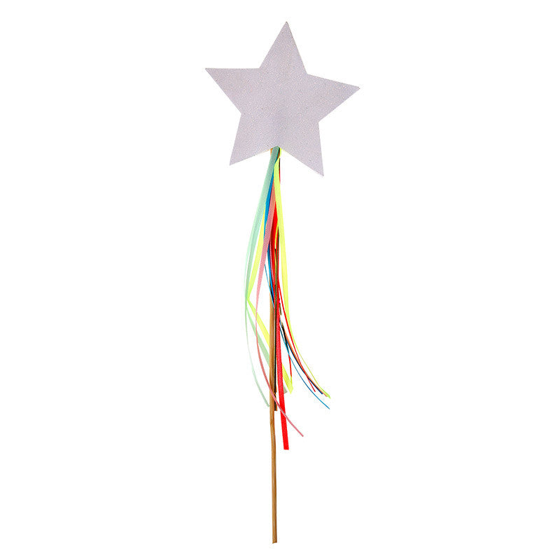"""I Believe in Unicorns"" Sparkly Wands -  Party Supplies - Meri Meri UK - Putti Fine Furnishings Toronto Canada - 1"