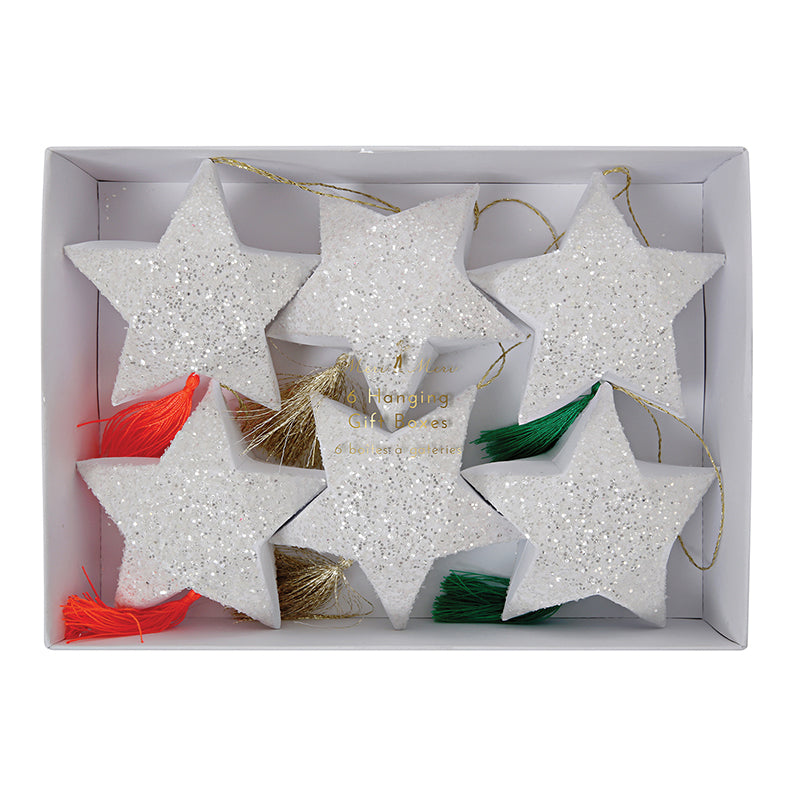 Meri Meri Star Hanging Gift Boxes, MM-Meri Meri UK, Putti Fine Furnishings