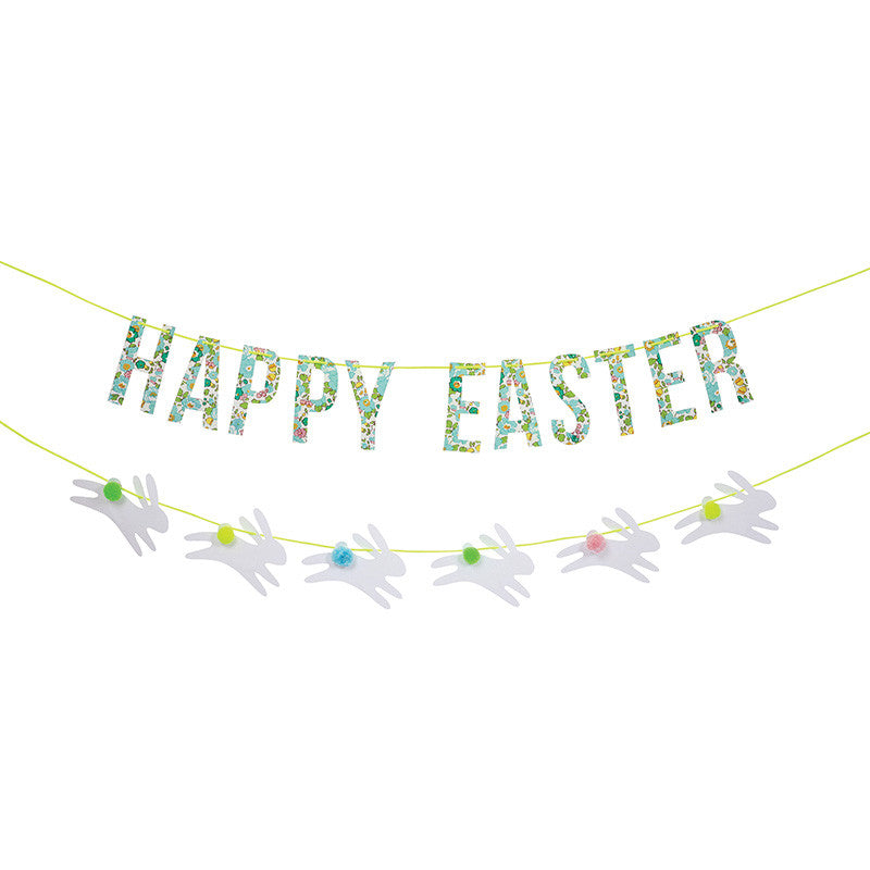 Meri Meri Liberty Green Betsy - Easter Garland -  Party Supplies - Meri Meri UK - Putti Fine Furnishings Toronto Canada
