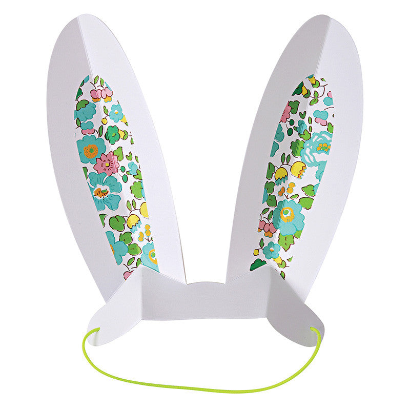Meri Meri Liberty Green Betsy - Easter Bunny Ears -  Party Supplies - Meri Meri UK - Putti Fine Furnishings Toronto Canada