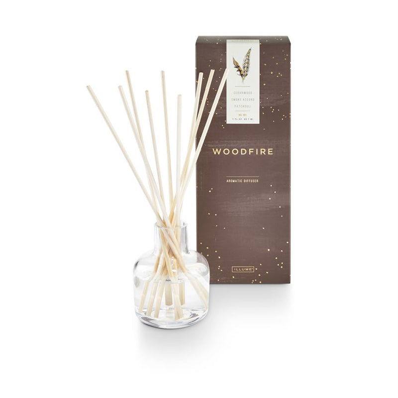 Illume Woodfire Diffuser | Putti Fine Furnishings Canada