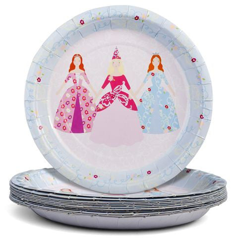 Meri Meri Princess Paper Plate-Paper Plates-MM-Meri Meri UK-Putti Fine Furnishings