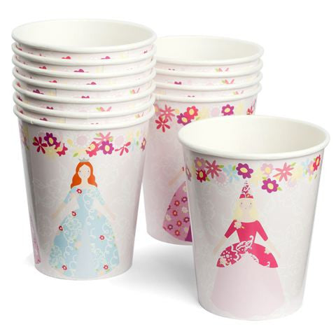Meri Meri Princess Party - Paper Cups, MM-Meri Meri UK, Putti Fine Furnishings