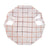 Rose Gold Grid Paper Plates - Small