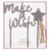 "Meri Meri ""Make a Wish"" Acrylic Cake Toppers, MM-Meri Meri UK, Putti Fine Furnishings"