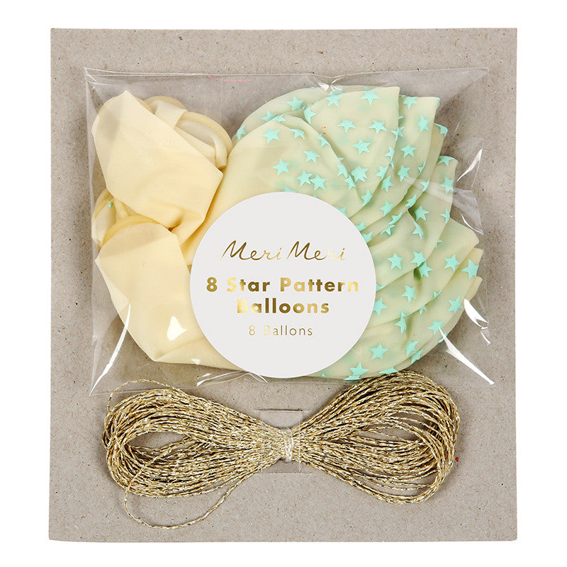Meri Meri Star Balloon Kit - Mint