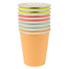 "Meri Meri ""Neon"" Paper Cups, MM-Meri Meri UK, Putti Fine Furnishings"