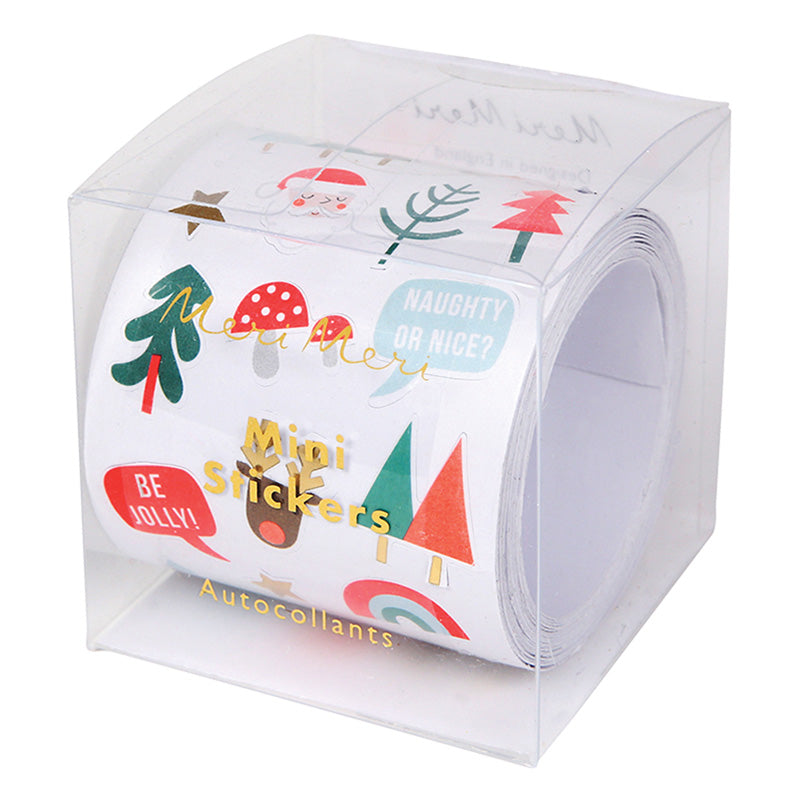 Meri Meri Christmas Mini Sticker Roll, MM-Meri Meri UK, Putti Fine Furnishings