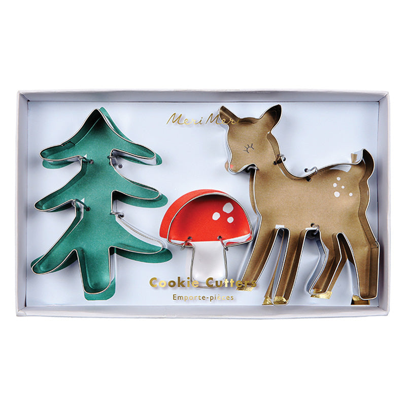 "Meri Meri ""Woodland"" Cookie Cutters, MM-Meri Meri UK, Putti Fine Furnishings"