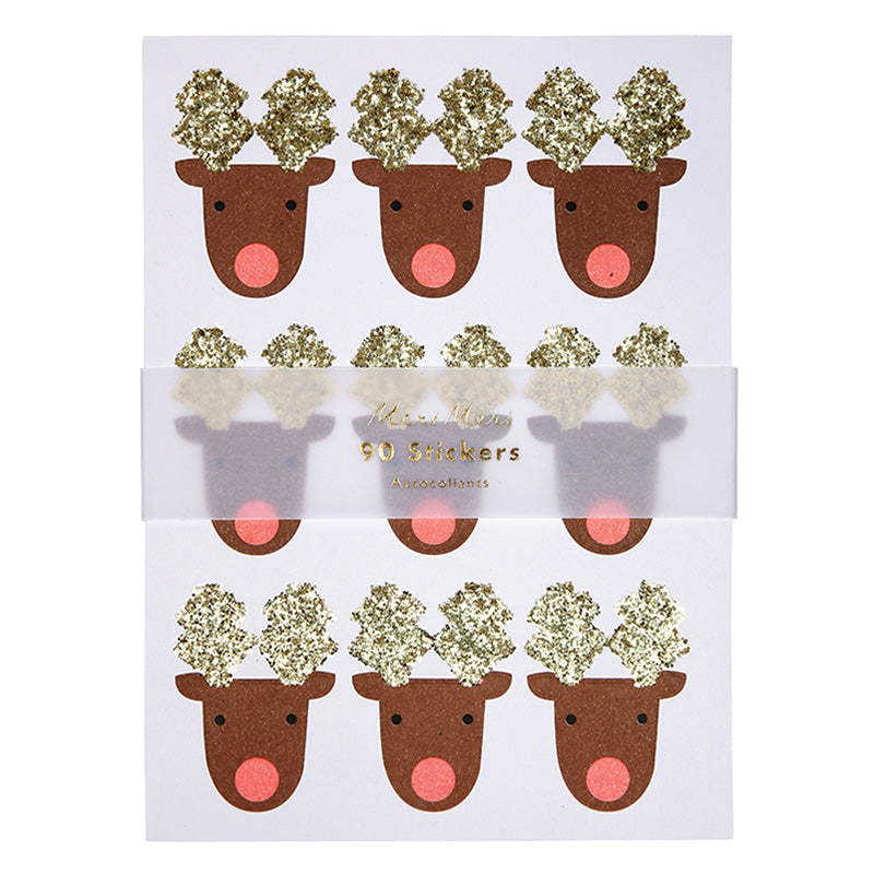 Meri Meri Reindeer Sticker Sheets-Party Supplies-MM-Meri Meri UK-Putti Fine Furnishings